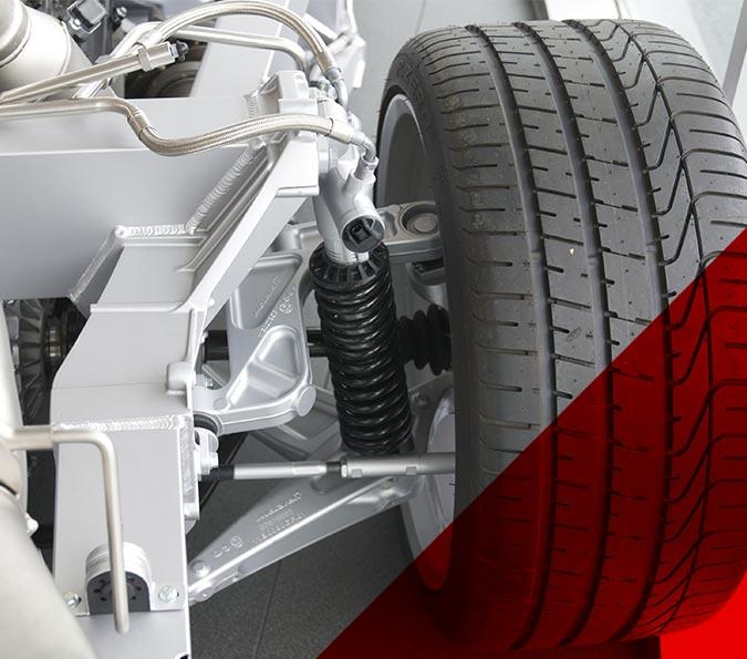 Secor automóvil - Piezas de un coche
