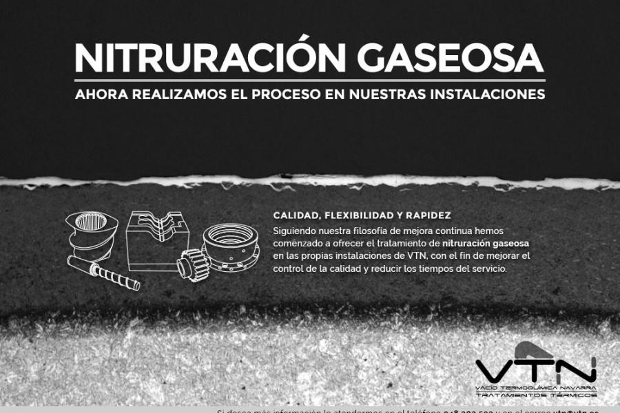 Nitruación Gaseosa en VTN