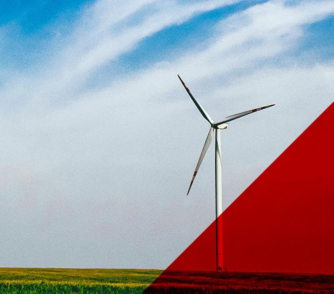 Sector eólico - Molino de viento